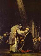 Francisco Jose de Goya Last Communion of Saint Jose de Calasanz. oil painting picture wholesale