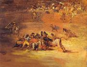 Francisco Jose de Goya Scene of Bullfight oil painting picture wholesale