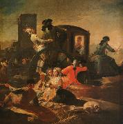 Francisco de Goya The Pottery Vendor oil painting artist