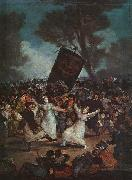 Francisco de Goya The Burial of the Sardine oil painting artist
