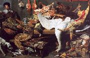 Frans Snyders A Game Stall oil painting artist