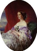 Franz Xaver Winterhalter The Empress Eugenie oil painting picture wholesale