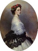 Franz Xaver Winterhalter Princess Alice oil painting picture wholesale