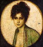 Franz von Stuck Portrait of Frau Feez oil painting picture wholesale
