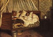 Frederic Bazille The Improvised Field-Hospital oil painting artist