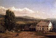 Frederic Edwin Church View in Pittsford, Vt. oil painting picture wholesale