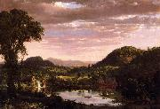 Frederic Edwin Church New England Landscape oil painting picture wholesale