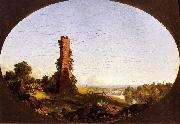 Frederic Edwin Church New England Landscape with Ruined Chimney oil painting picture wholesale