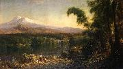 Frederic Edwin Church Figures in an Ecuadorian Landscape oil painting picture wholesale