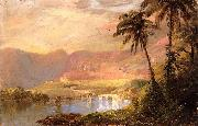 Frederic Edwin Church Tropical Landscape oil painting picture wholesale