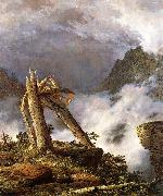 Frederic Edwin Church Storm in the Mountains oil painting picture wholesale
