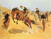 Frederick Remington Turn Him Loose, Bill oil painting picture wholesale