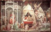 GADDI, Agnolo The Triumph of the Cross (detail) dg oil painting picture wholesale