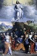 GAROFALO Ascension of Christ sdg oil painting artist