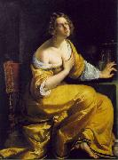 GENTILESCHI, Artemisia Mary Magdalen df oil painting picture wholesale