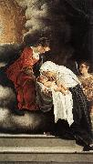 GENTILESCHI, Orazio The Vision of St Francesca Romana sdg oil painting picture wholesale