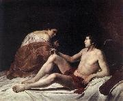GENTILESCHI, Orazio Cupid and Psyche dfhh oil painting artist