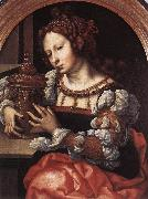 GOSSAERT, Jan (Mabuse) Lady Portrayed as Mary Magdalene sdf oil painting picture wholesale