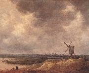 GOYEN, Jan van Windmill by a River fg oil painting picture wholesale