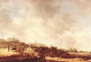 GOYEN, Jan van Landscape with Dunes dxg oil painting picture wholesale