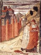 GOZZOLI, Benozzo The Departure of St Jerome from Antioch dg oil painting picture wholesale