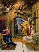 GRECO, El The Annunciation sdgm oil painting artist