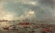 GUARDI, Francesco Outward Voyage of the Bucintoro to San Nicol del Lido dfg oil painting picture wholesale