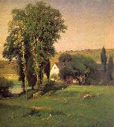 George Inness Old Homestead oil painting picture wholesale