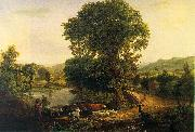 George Inness Afternoon oil painting artist