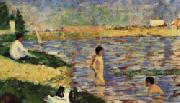 Georges Seurat Les Poseuses oil painting picture wholesale
