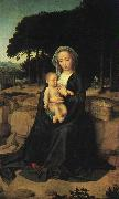 Gerard David The Rest on the Flight to Egypt_1 oil painting artist