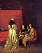 Gerard Ter Borch Paternal Advice oil painting picture wholesale