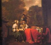 Gerbrand van den Eeckhout Party on a Terrace oil painting picture wholesale