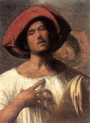 Giorgione The Impassioned Singer dg oil painting picture wholesale