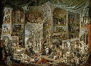 Giovanni Paolo Pannini Views of Ancient Rome oil painting artist