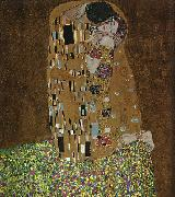 Gustav Klimt The Kiss oil painting artist