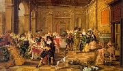 HALS, Dirck The Fete Champtre oil painting picture wholesale