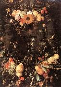 HEEM, Jan Davidsz. de Fruit and Flower Still-life dg oil painting picture wholesale