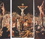 HEEMSKERCK, Maerten van Crucifixion (Triptych) f oil painting picture wholesale