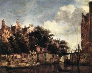 HEYDEN, Jan van der Amsterdam, Dam Square with the Town Hall and the Nieuwe Kerk s oil painting picture wholesale
