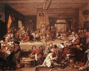 HOGARTH, William An Election Entertainment f oil painting picture wholesale