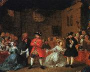 HOGARTH, William A Scene from the Beggar's Opera g oil painting artist