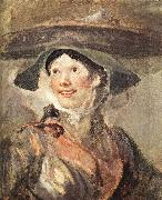 HOGARTH, William The Shrimp Girl sf oil painting artist