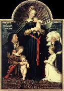 HOLBEIN, Hans the Younger Darmstadt Madonna sg oil painting artist