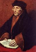 HOLBEIN, Hans the Younger Portrait of Erasmus of Rotterdam sf oil painting artist