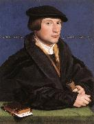 HOLBEIN, Hans the Younger Portrait of a Member of the Wedigh Family sf oil painting artist