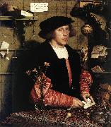 HOLBEIN, Hans the Younger Portrait of the Merchant Georg Gisze sg oil painting artist
