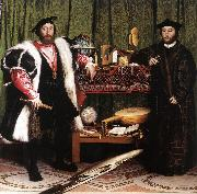 HOLBEIN, Hans the Younger Jean de Dinteville and Georges de Selve (The Ambassadors) sf oil painting picture wholesale