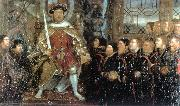 HOLBEIN, Hans the Younger Henry VIII and the Barber Surgeons sf oil painting picture wholesale