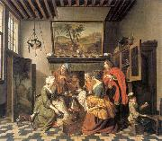 HOREMANS, Jan Jozef II The Marriage Contract sfg oil painting picture wholesale